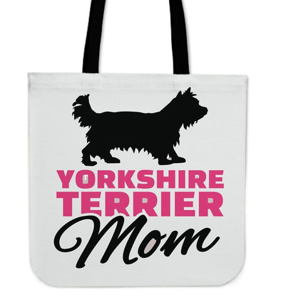 Yorkshire Terrier Mom Cloth Tote Bag - AroMama Essentials