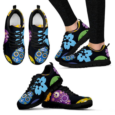 Women's Sugar Skulls Sneakers - AroMama Essentials