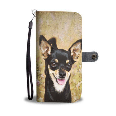 Chihuahua Wallet Phone Case - AroMama Essentials