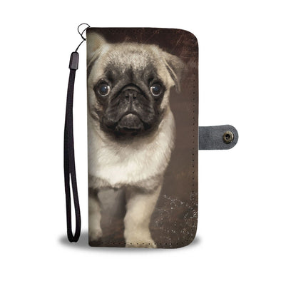 Love Pug Wallet Phone Case - AroMama Essentials