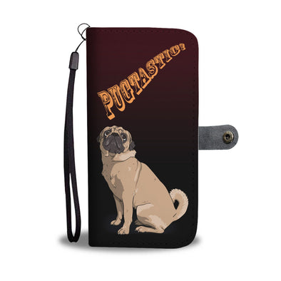 Pugtastic Wallet Phone Case - AroMama Essentials