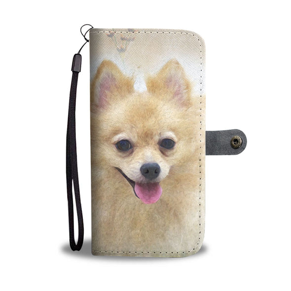 Pomeranian Wallet Phone Case - AroMama Essentials