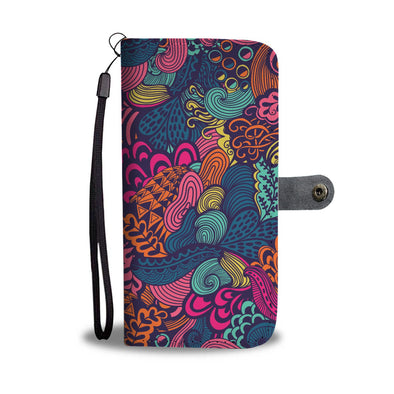 Psychedelic I Wallet Phone Case - AroMama Essentials