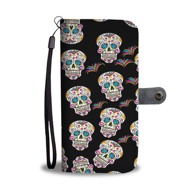 My Sugar Skull I Wallet Phone Case - AroMama Essentials