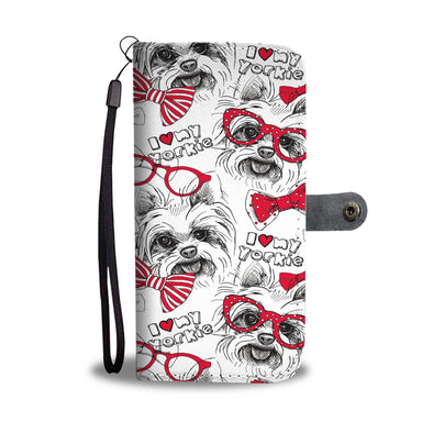 Yorkshire Terrier Wallet Phone Case - AroMama Essentials