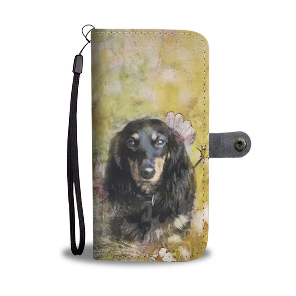 Dachshund V2 Wallet Phone Case - AroMama Essentials