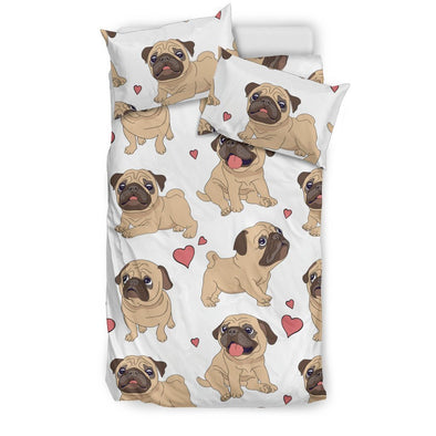 Pug Bedding Set - AroMama Essentials