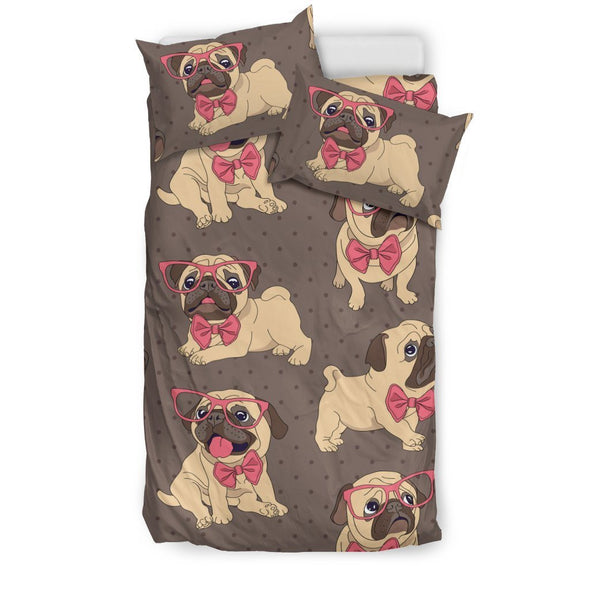 Lovely Pug Bedding Set - AroMama Essentials
