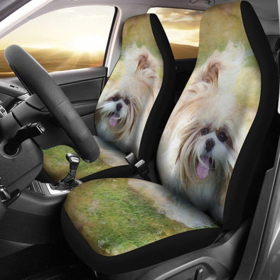 Shih Tzu Car Seat Cover (Set of 2) - AroMama Essentials