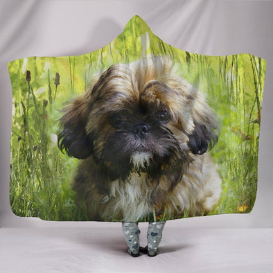 Shih Tzu Lovers Hooded Blanket - AroMama Essentials