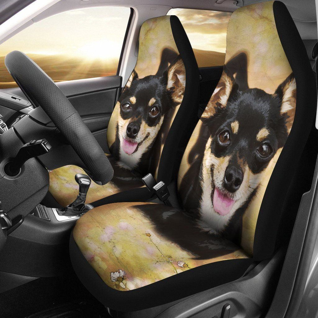 Chihuahua Car Seat Cover Set Of 2