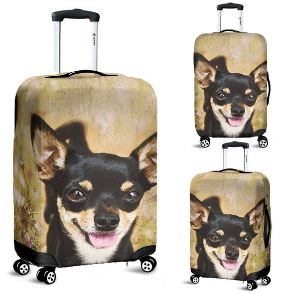 Chihuahua Luggage Cover - AroMama Essentials