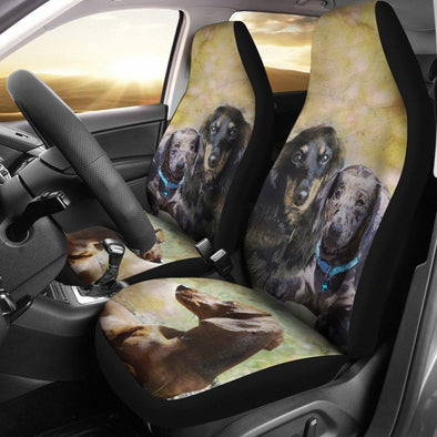 Dachshund Car Seat Cover (Set of 2) - AroMama Essentials