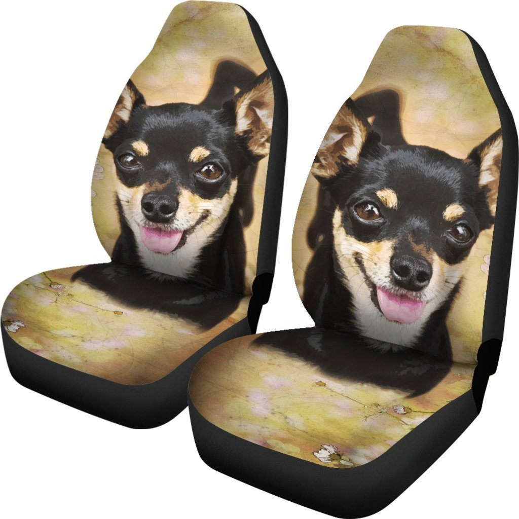 Chihuahua Car Seat Cover (Set of 2