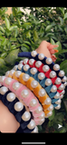Navy Big Pearls Headband