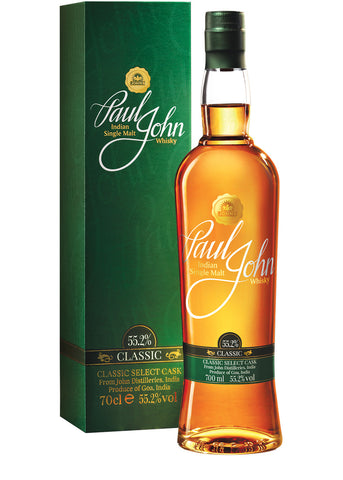 Paul John Classic Indian Whiskey