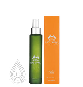 LIME VETIVER DRY SILK BODY OIL