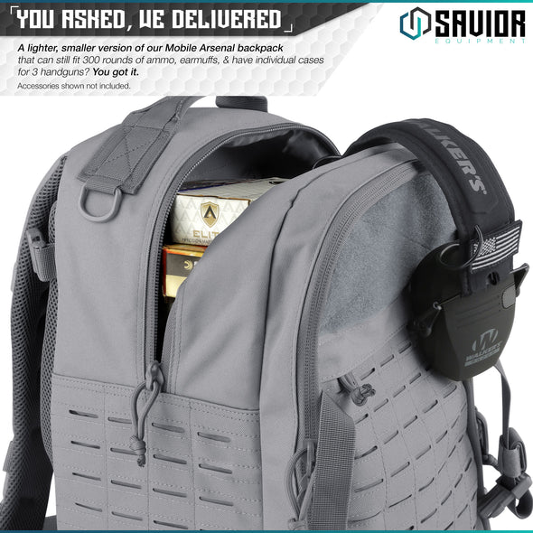 S.E.M.A - Compact Mobile Arsenal Backpack