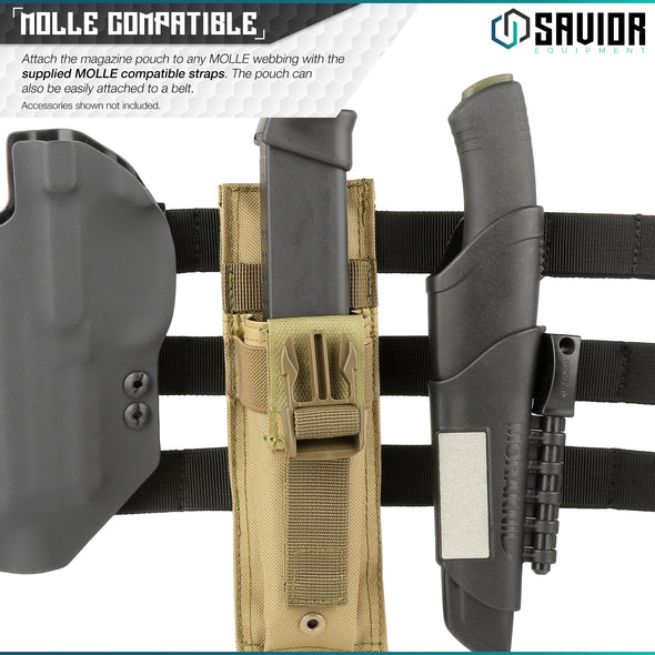 Single - Extended Magazine Pouch