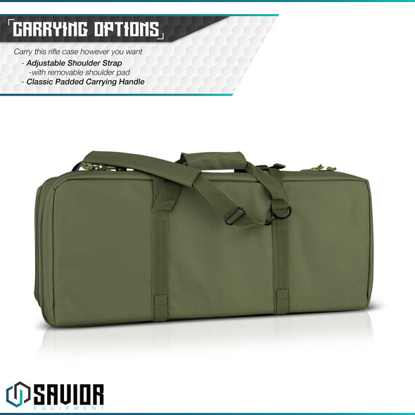 "American Classic 24"" - Double Rifle Case"
