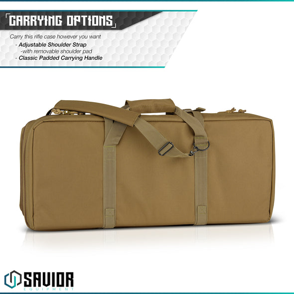 "American Classic 28"" - Double Rifle Case"