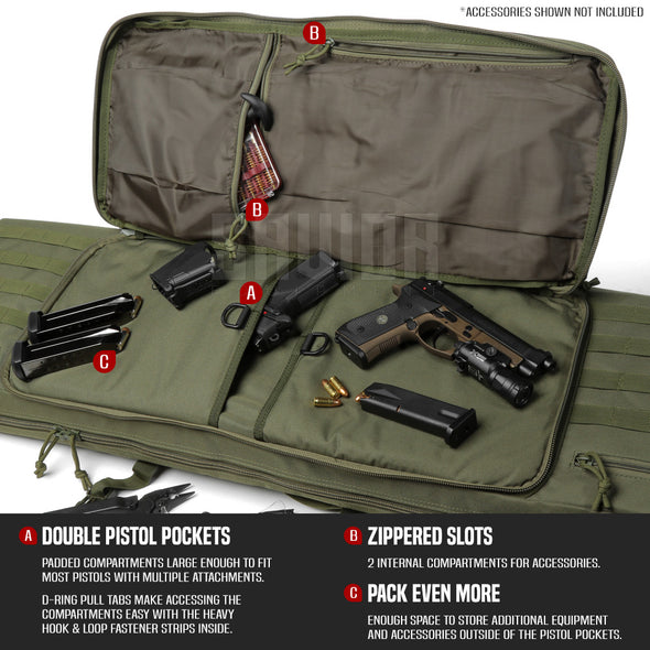 "American Classic 36"" - Double Rifle Case"