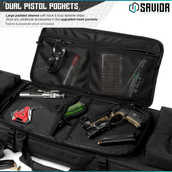 "Urban Warfare 36"" - Double Rifle Case"