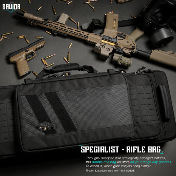 "Specialist 42"" - Double Rifle Case"