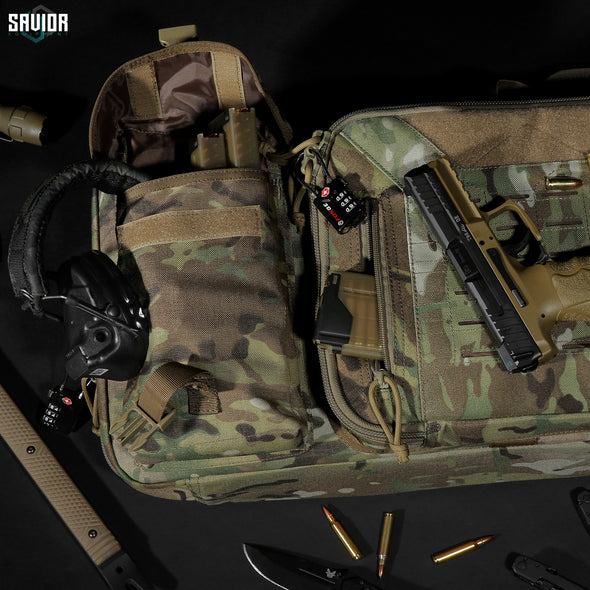 "MultiCam® Urban Warfare 46"" - Double Rifle Case"