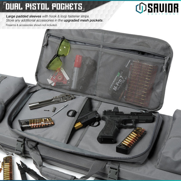 "Urban Warfare 51"" - Double Rifle Case"