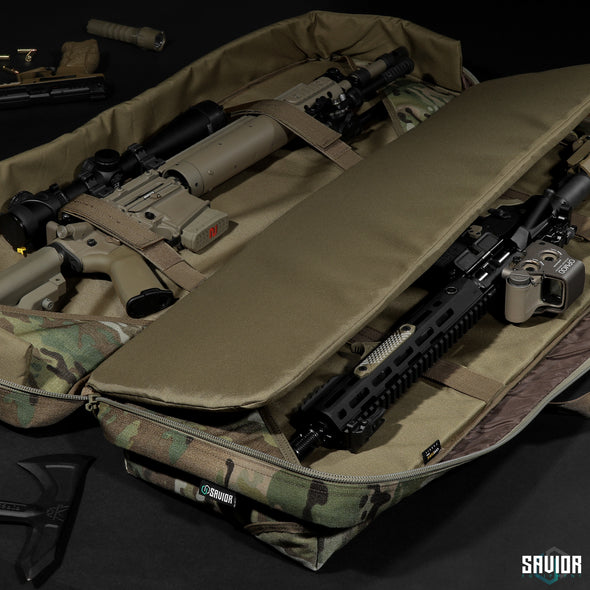 "MultiCam® Urban Warfare 51"" - Double Rifle Case"
