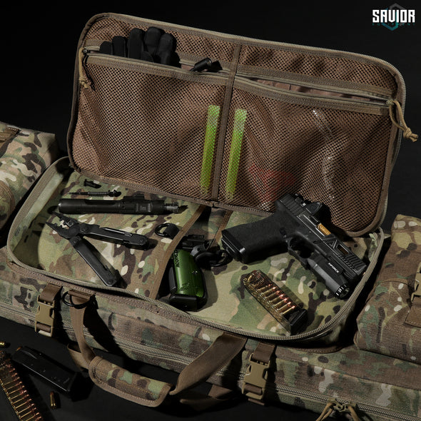 "MultiCam® Urban Warfare 55"" - Double Rifle Case"