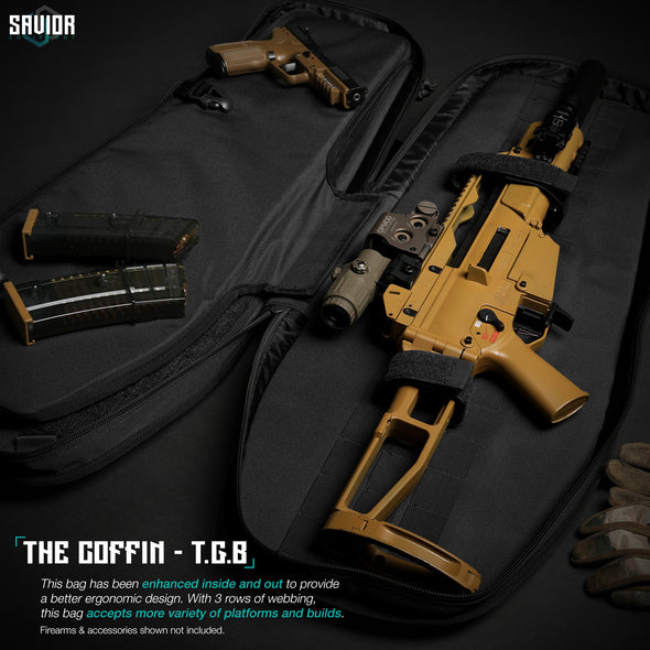 "Coffin T.G.B 34"" - Covert Single Rifle Case"