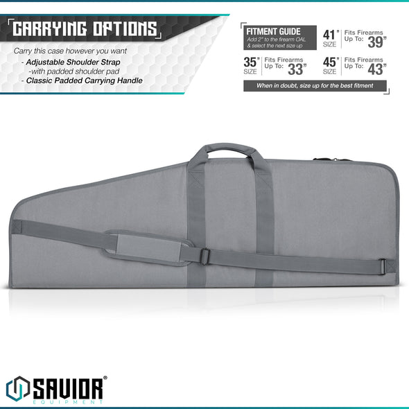 "The Patriot 41"" - Single Rifle Case"