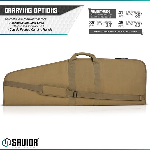 "The Patriot 45"" - Single Rifle Case"