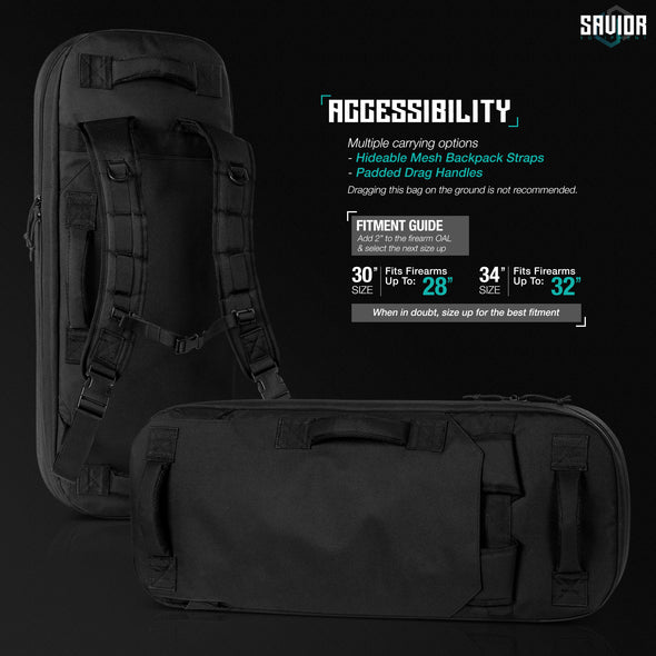 "Specialist - Covert 30"" Single Rifle Case"