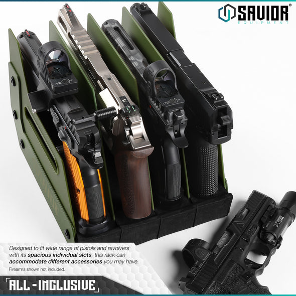 4-Slot Pistol Rack