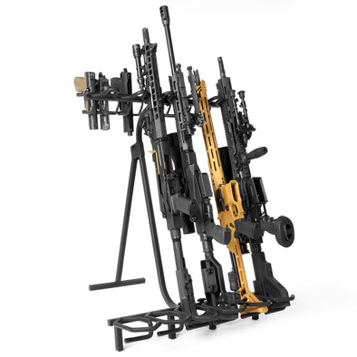 Mobile Rifle Rack