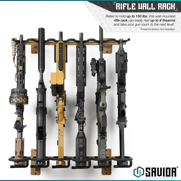 Rifle Wall Rack