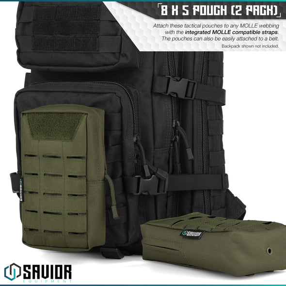 8 x 5 Tactical Pouch