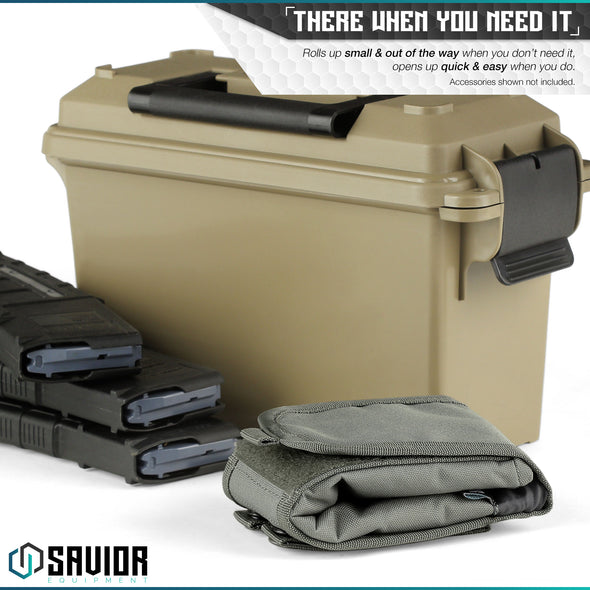 Large Roll-up Dump Pouch