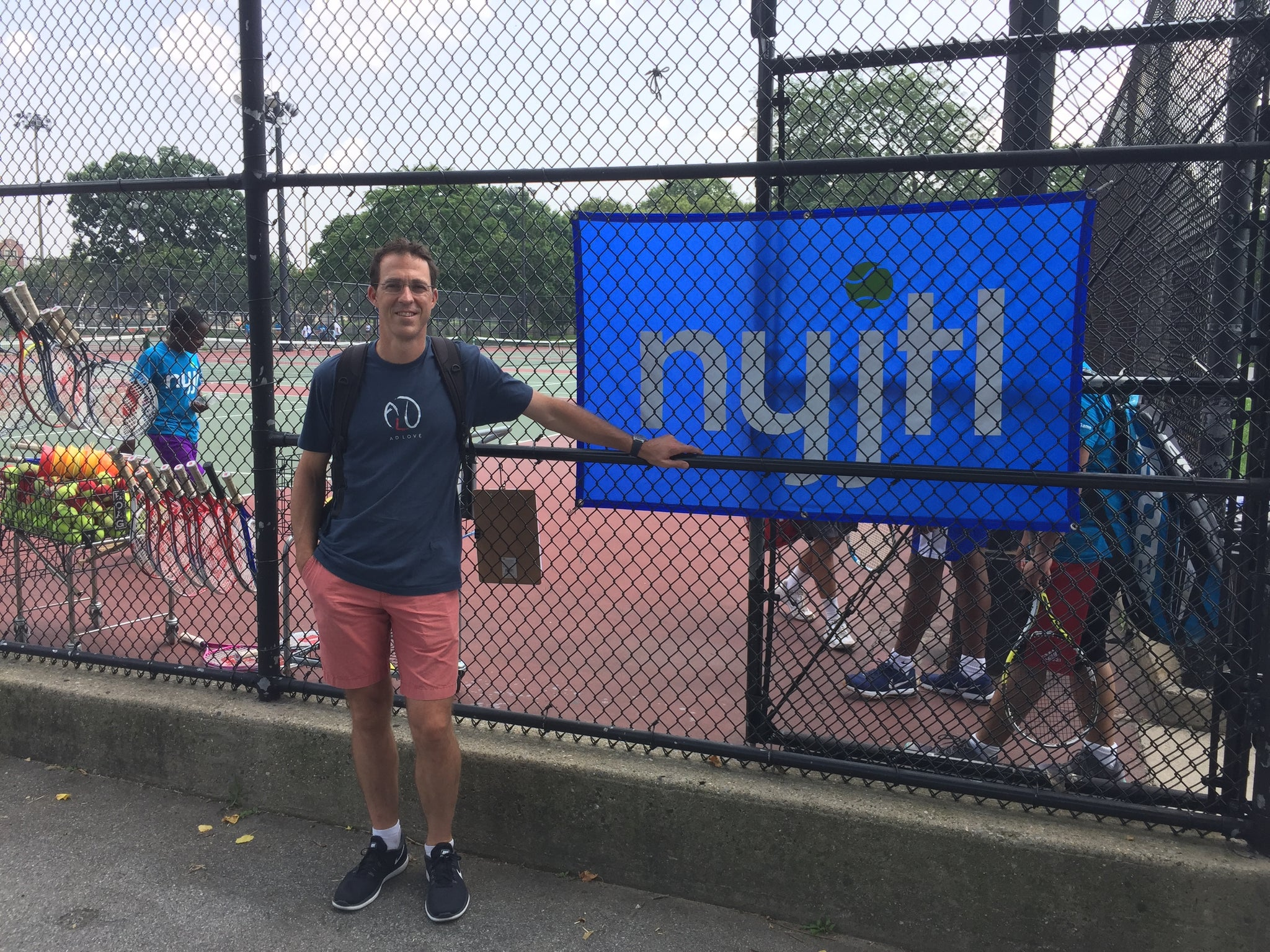 AD LOVE Partners with New York Junior Tennis & Learning!