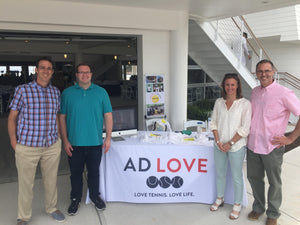 AD LOVE participates in it's first partner fundraiser with Norwalk Grassroots Tennis & Education!