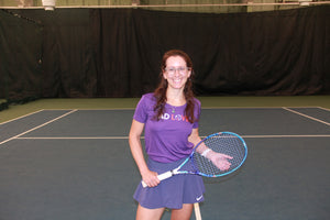 NEW! Women's Performance Advantage Racket Scoopneck T