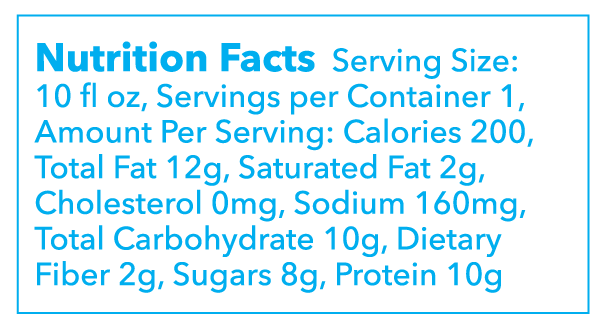 Mad Mylk Nutritional Facts Montauk Juice Factory