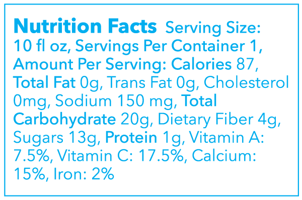 The Ditch Nutritional Facts Montauk Juice Factory
