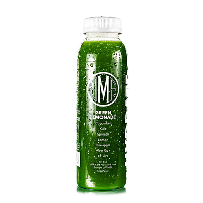 Green Lemonade Juice by Montauk Juice Factory