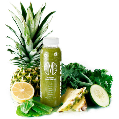 Green Lemonade Juice Ingredients by Montauk Juice Factory
