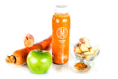 Bonfire Cider Juice Ingredients by Montauk Juice Factory