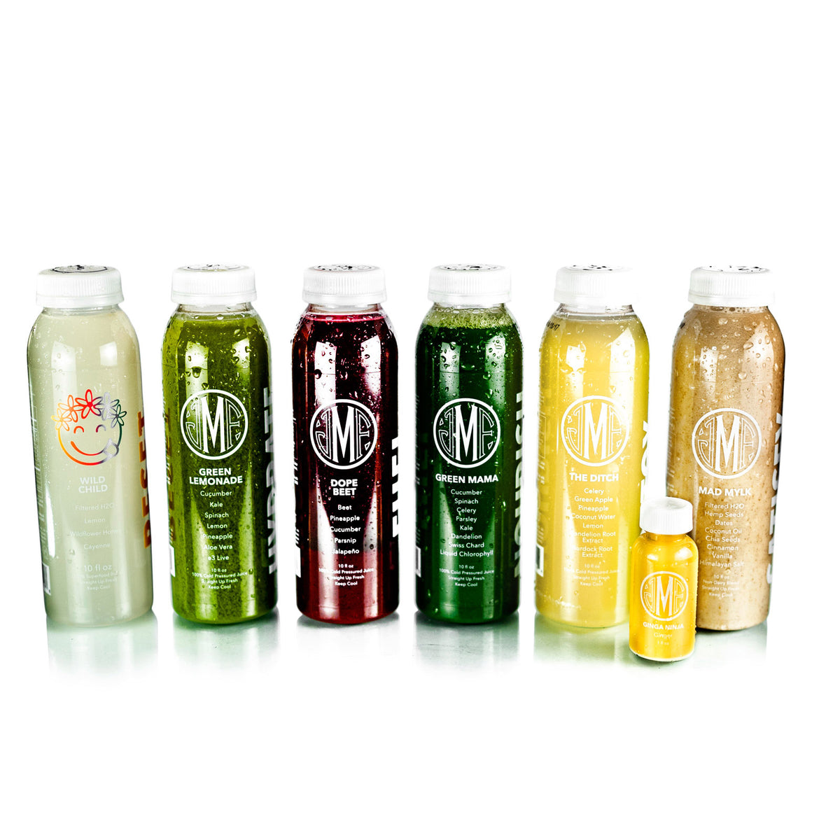 Detox Juice Cleanse by Montauk Juice Factory